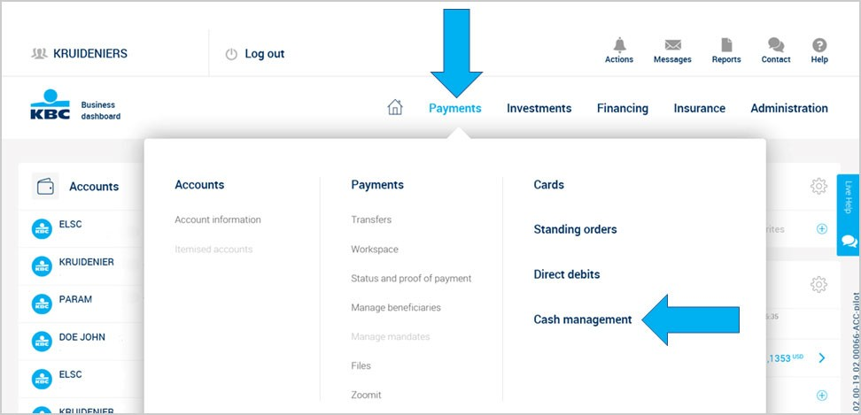 See your accounts the new way in Business Dashboard - Corporate
