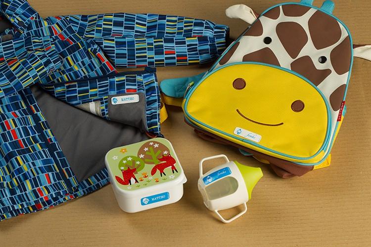 Bekend Labelpakket als cadeau voor je kindje - KBC Bank & Verzekering @NY41