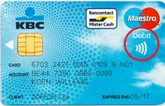 carte bancaire logo sans contact