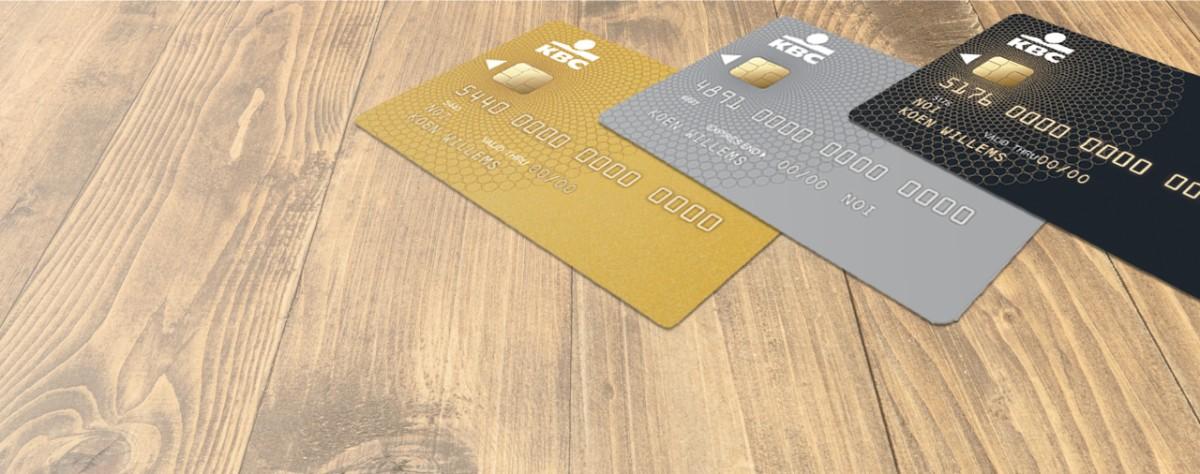 Carte Bancaire Kbc.Comparaison Des Cartes De Credit Kbc Banque Assurance