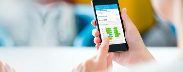 mobiel bankieren smartphone kbc