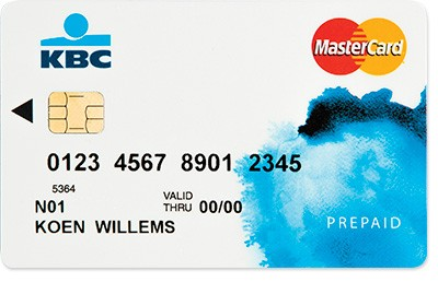 Credit card for students: Mastercard prepaid card